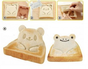 emporte piece pain de mie panda