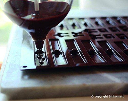 Moule pour faire un sapin de no l en chocolat ou en - Faire un sapin de noel en chocolat ...