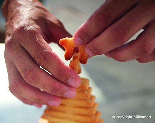 Autre utilisation possible de ce moule : le sapin de noël en biscuits