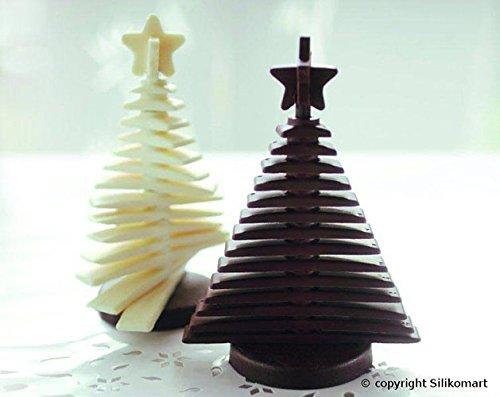 Moule Pour Faire Un Sapin De Noel En Chocolat Ou En Biscuits